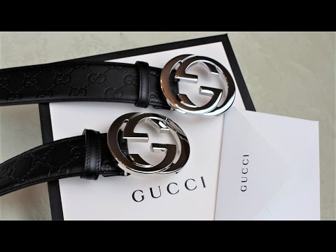 TIPS ON SPOTTING A FAKE GUCCI BELT | Authentic vs Replica Gucci Belt Comparison