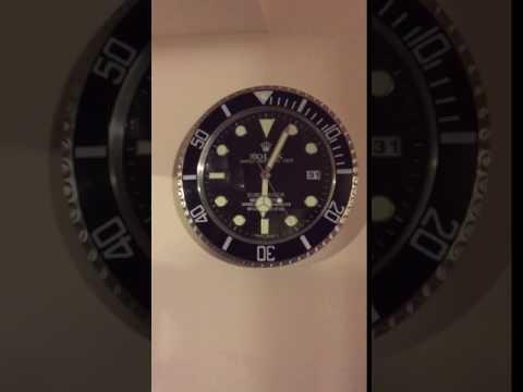 Rolex Submariner Wall Clock