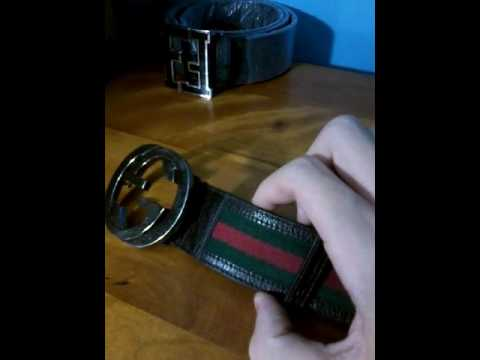 EASY STEPS TO SPOT A FAKE GUCCI BELT!