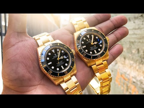 How To Spot a Fake Rolex Watch – Can You Do It? 😱
