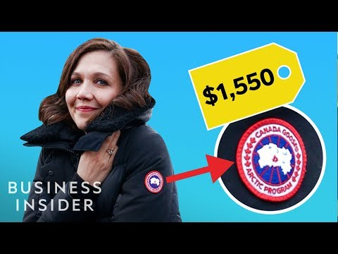 Why Canada's goose jackets are so costly
