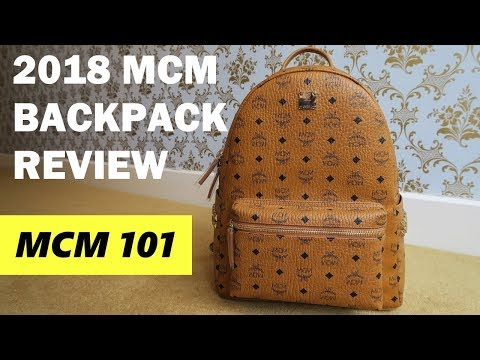 MCM 101 – MCM Backpack Unboxing & Review